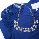Royal Blue Tops