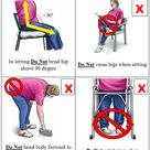 Hip replacement precautions handout total hip replacement exercise