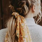 21 Pretty Ways To Wear A Scarf In Your Hair   Cute and Easy Braid