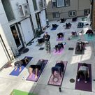 Courtyard Yoga with Tracy July 31 at 9am