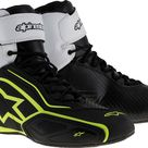 Alpinestars Faster 2 short boots waterproof   Black/White/Neon Yellow   9 US