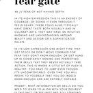 Fear Gates of the Spleen | Human Design