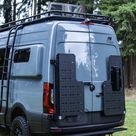 Owl Vans Sherpa Cargo Carrier - Sprinter VS30 (2019-PRESENT & 2020+ REVEL) - Driver Side / My van has 180* hinges