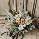 Pampas grass bouquet, Eucalyptus bouquet, extra large wedding bouquet, statement bridal bouquet, boh