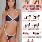 10 Fat Blasting Home Exercises For Sexy Tighter Thinner Thighs - GymGuider.com