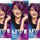 Schwarzkopf Live Ultra Semi Permanent Hair Dye-Purple Punk