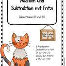 Arbeitsblätter mit Fritzi - Zahlenräume 10 und 20 – Unterrichtsmaterial im Fach Mathematik