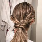 Braided Princess Ponytail