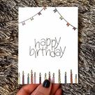 This item is unavailable in 2020   Creative birthday cards, Happy birthday cards diy, Handmade birth