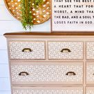 Boho Dresser By @rosierustics