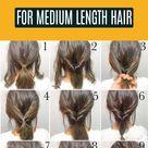 25 Easy Everyday Hairstyles For Medium Length Hair