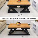 Nowoczesny stolik Double Z przez Soxoni drewniane meble   Etsy woodfurniture woodenfurniture toolzguide