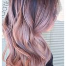 gorgeous hair color blonde rose gold