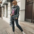 3 Ways to style silver metallic boots - Want Get Repeat