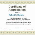 Pastor Appreciation Certificate Template Free Luxury 31 Free Certificate Of Appreciation Templates and Letters | Dannybarrantes Template