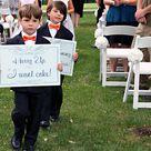 Funny Wedding Signs