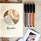 25 November Bullet Journal Ideas for Fall 2021 - Beautiful Dawn Designs