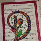 Letter D Coloring Page  Inspired by the font   Etsy