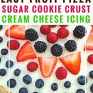 Strawberry Pizza Recipe with Sugar Cookie Crust