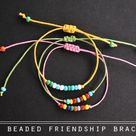 Beaded Friendship Bracelets