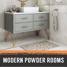 10 Modern Powder Room Ideas to Jazz up Your Half Bath