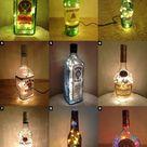 Alcohol Bottle Lamps - Christmas Xmas Gift Christmas Present