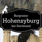 Hohensyburg - Burgruine, Friedhof und Geisterhaus - Burgdame