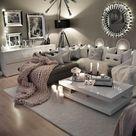 Gemütliche neutrale Wohnzimmer-Ideen Erdgraue Wohnzimmer zum Kopieren – Hauptdekoration