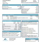 USA Springside Mortgage bank statement template in Excel and PDF format (editing for free)