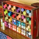 Craft Paint Storage