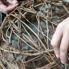 How to Make Illuminated Grapevine Spheres
