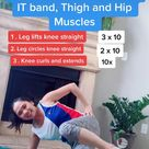 Lengthen and Strengthen Thighs, Hips and IT Band Pilates Program