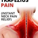 Trapezius pain can be very painful and frustrating. Upper trapezius pain can come out of nowhere when sleeping. Once trigged it can radiate down to the mid and lower back and cause intense neck pain. In this post, I'll show you how to get relief from trapezius pain with neck stretches, and neck self-massage techniques so you can feel better soon.