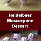 Heidelbeer-Mascarpone Dessert - schonheitundnatur.com