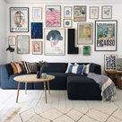 Galleries Galore In A Creative Danish Home