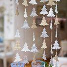 Holiday decor, Christmas clearance, Christmas decorations, Christmas Garland, Christmas tree garland, Christmas window decorations