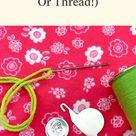 How To Use Needle Threaders (For Yarn + Thread)