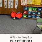 6 Tips to Simplify Classroom Organization