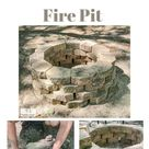 How to Build a Simple Concrete Paver Fire Pit in about One Hour