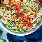 Cajun Chicken Zucchini Noodles | Quick, Easy, and Healthy