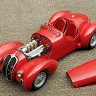 Cooler Than Before   sharonov  1939 Alfa Romeo 6C 2500 SS Spider...