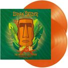 Brian Setzer Orchestra The Ultimate Collection Recorded Live Volume 2 - 2 x ORANGE COLOURED VINYL 180 GRAM LP SET