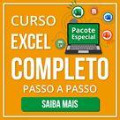 Curso de Excel Completo Pacote do Básico ao Avançado   Cursos de Excel