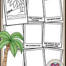 Ferien Arbeitsblatt für die Grundschule: Erinnerungen aus meinen Ferien | Unterrichtsmaterial