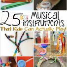 25 DIY Musical Instruments