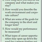 Good Interview Questions