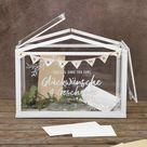 DIY Gewächshaus Kartenbox für die Hochzeit