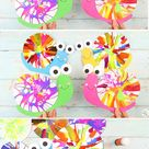 Spin Art Snails