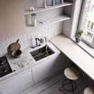 Как сделать маленькую кухню комфортнее за счёт дизайна