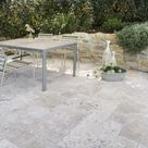 Travertin Tuscany Rustico Terrassenplatten – AlphaStone
